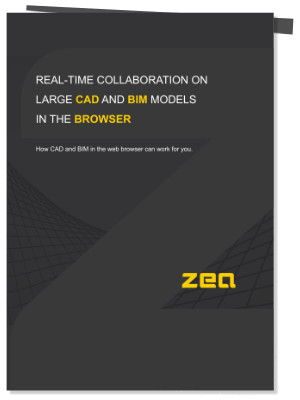Real-time Collaboration on Large CAD and BIM Models in the Browser