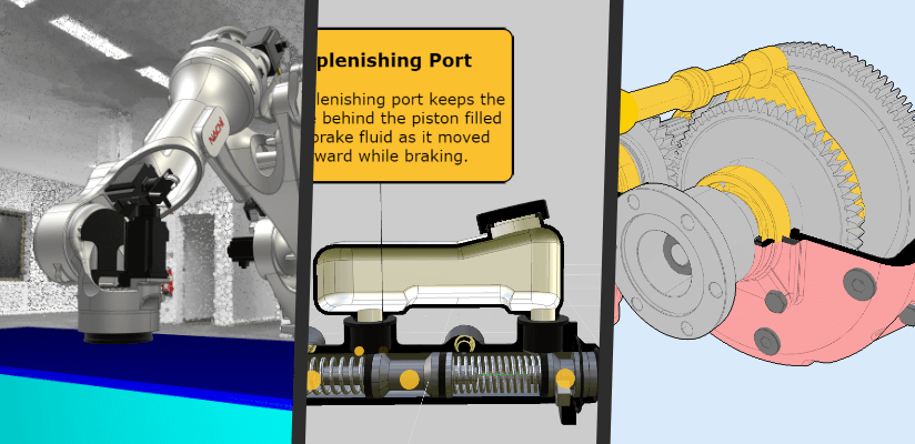 Explore our industrial robotics and e-learning showcases